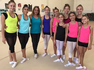 Estagio com treinadora búlgara Darina Vasileva