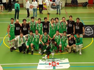 A equipa de SUB-16 Masculina de Basquetebol vence  a Taça Nacional