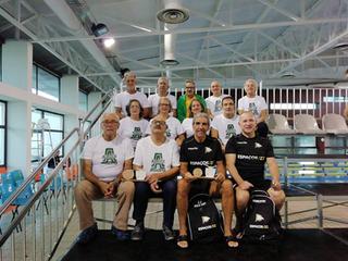 Masters de natação no II Meeting Luso - Andaluz