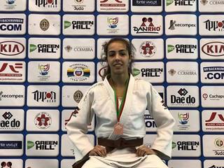 Raquel Brito ficou em 3.º lugar na Taça da Europa de Cadetes
