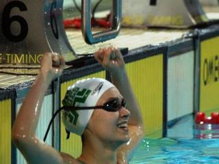Rita Frischknecht bate recorde absoluto dos 200 costas