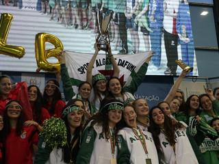 O Sport Algés e Dafundo  Bi-Campeão Nacional de Clubes em Natação, em femininos