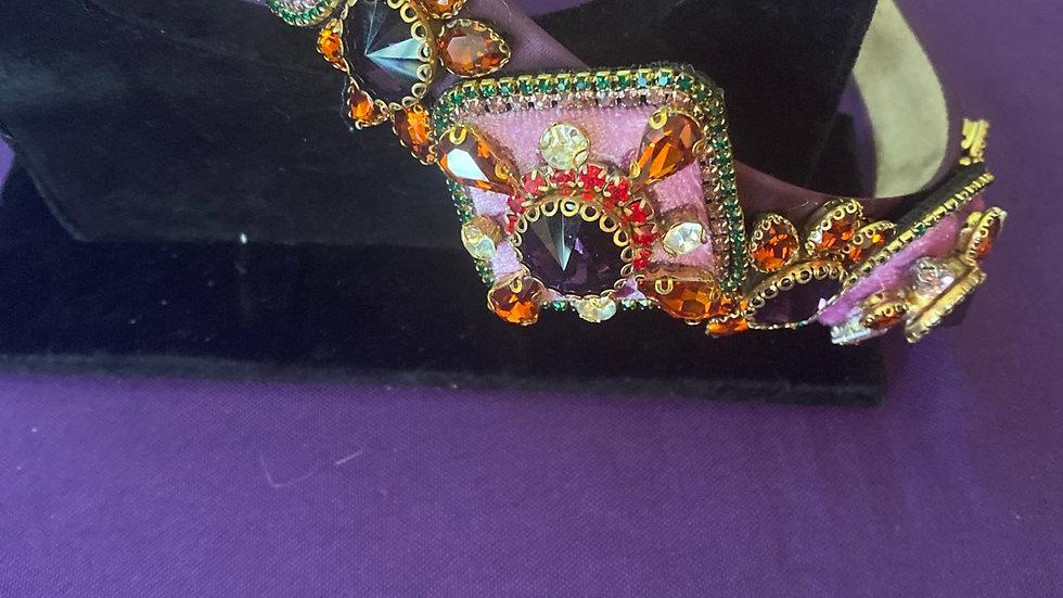 Beautiful embellished heading