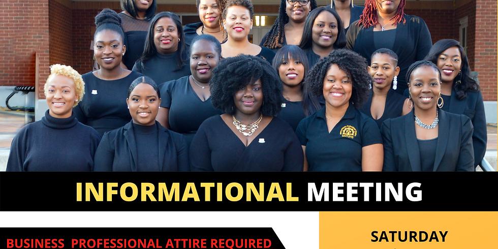 Metro-Atlanta Professional Chapter of SISTUHS, Inc. Informational Meeting