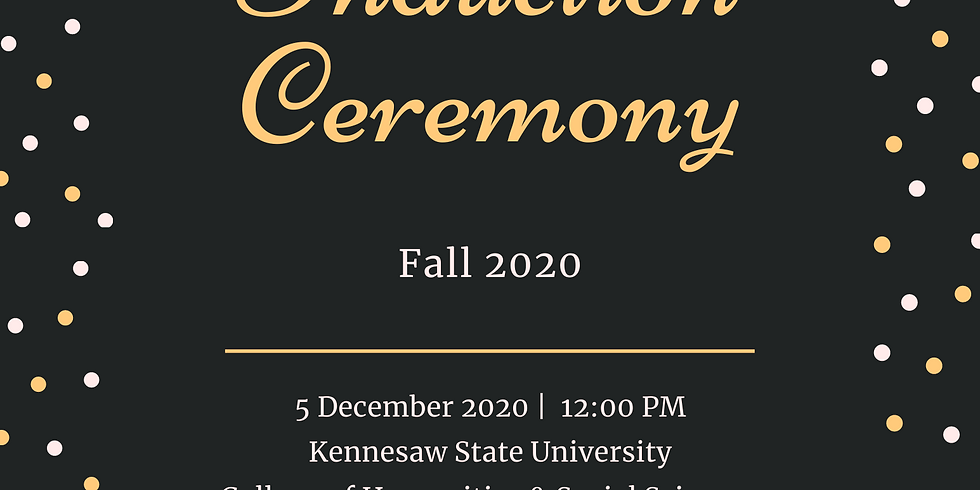 Fall 2020 Induction Ceremony