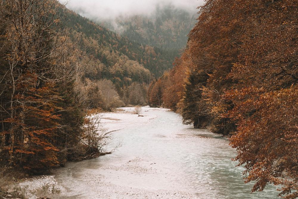 Herbst am Rissbach