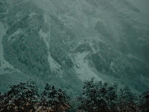 Weißer Herbst im Karwendel