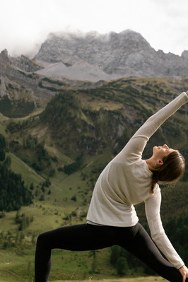 Yoga & Wandern, Ahornboden.