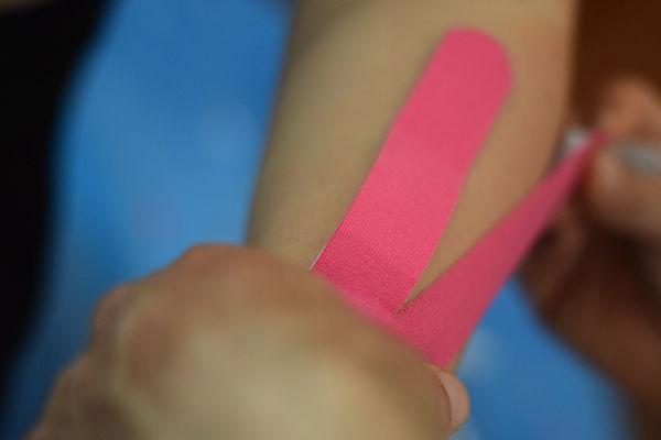Taping elastico
