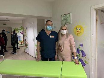 Мебель в травмпункт Дніпропетровська обласна дитяча лікарня