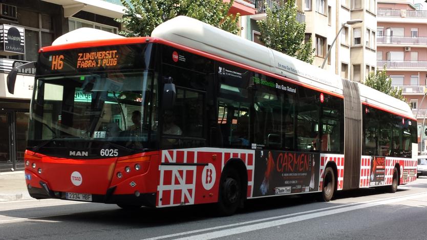 La H d'autobús. Escriptura en grup.