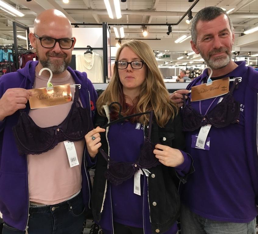 Purple undies?
