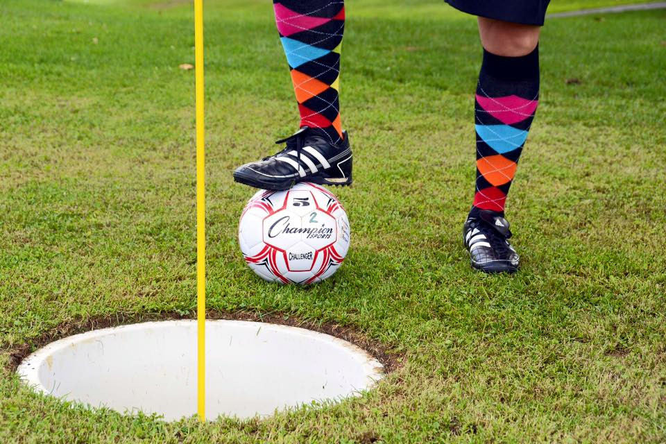 Play Foot Golf for Open House!