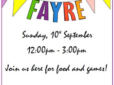 Come and join us at our Summer Fayre