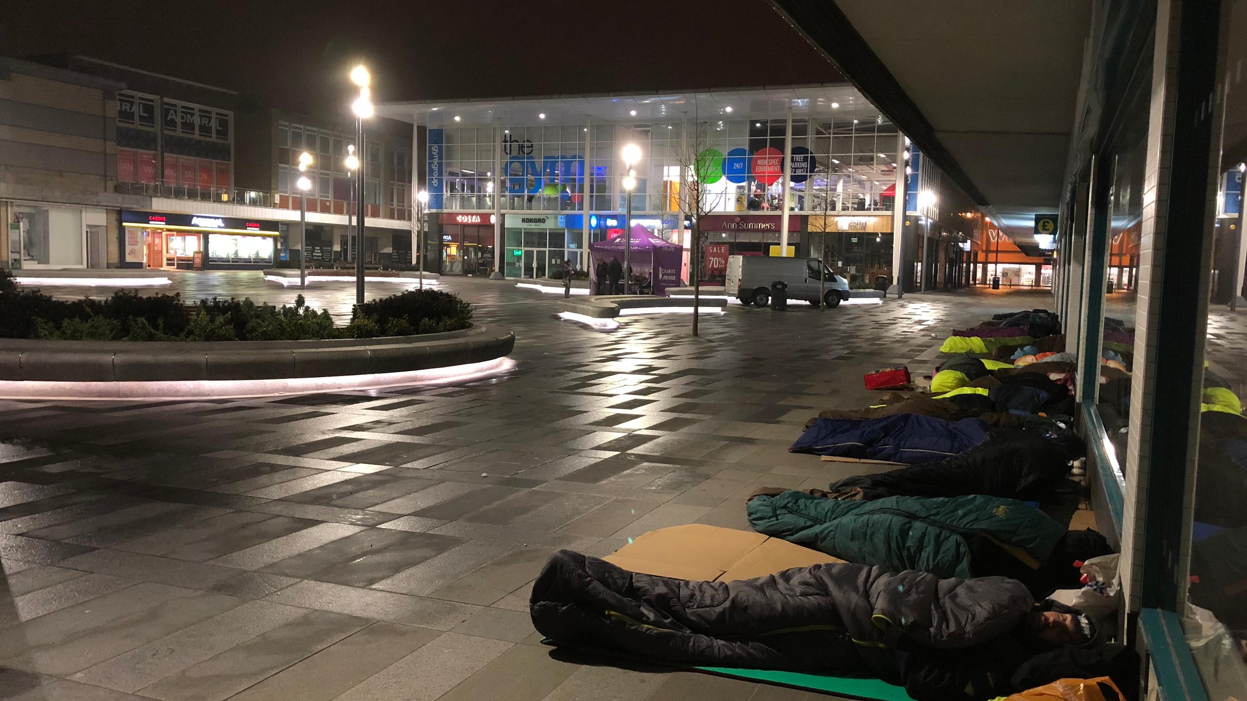 All quiet in Queens Square