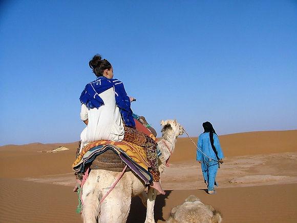 organisation de bivouac dans le desert maison d'hotes kasbah azul