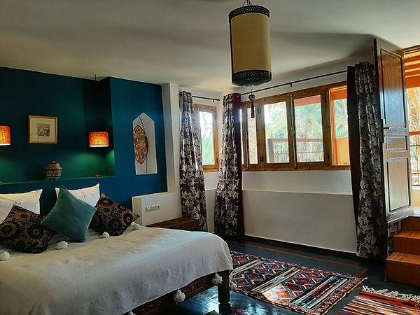 suite Qamar écolodge kasbah azul