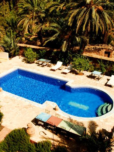 Swimming pool of Ecolodge La Kasbah Azul