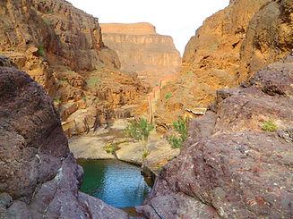 la cascade de Tizgui Agdz vue de haut.JP
