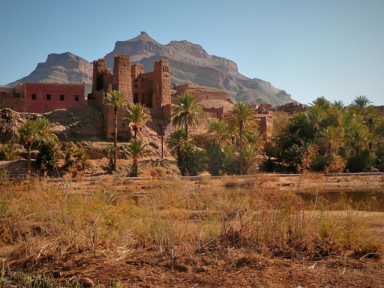 holidays in draa valley-kasbah azul guest house agdz south of mrocco