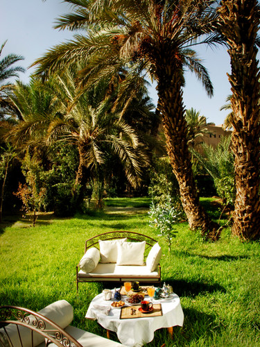 Private oasis of La Kasbah Azul guest house