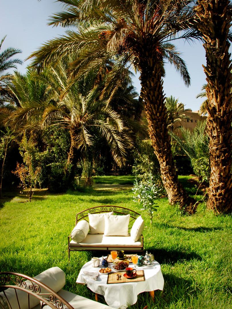 Oasis privée de la maison d'hôtes La Kasbah Azul