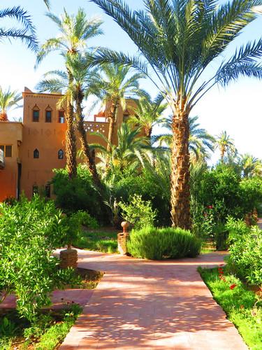 Hotel with Garden in Agdz - Kasbah Azul