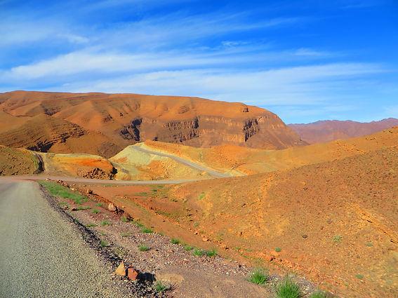 paysage de la vallée du draa