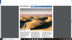 La Kasbah Azul dans le Sunday Times