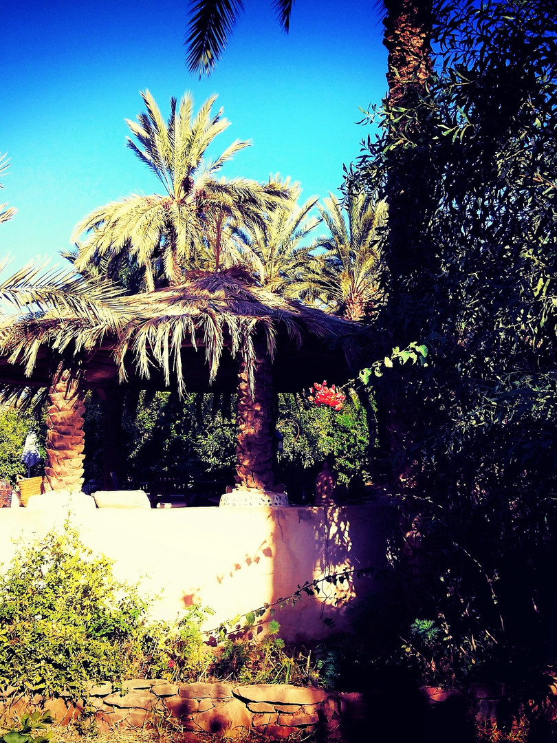 Salon Jardin ethno kasbah azul