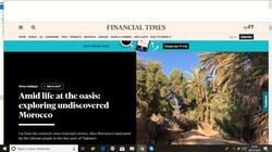 La Kasbah Azul dans Financial Times