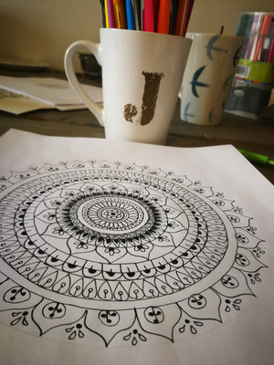 How To Draw: Mandala Art