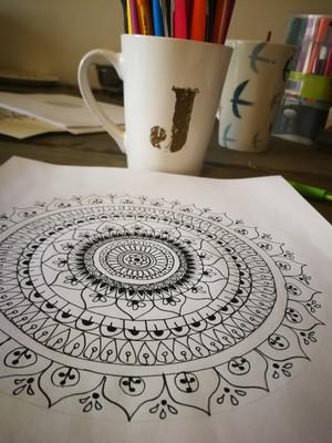 How To Draw: Mandala Art