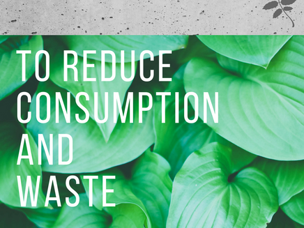 5 Simple Single-use Swaps to Reduce Consumption and Waste