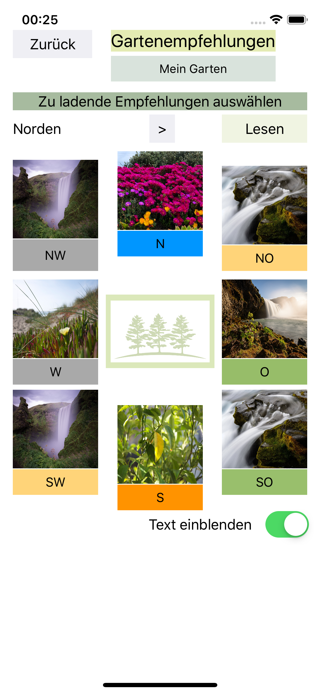 Gartenempfehlungen