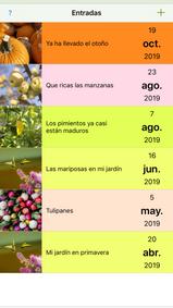 Mi año de jardín