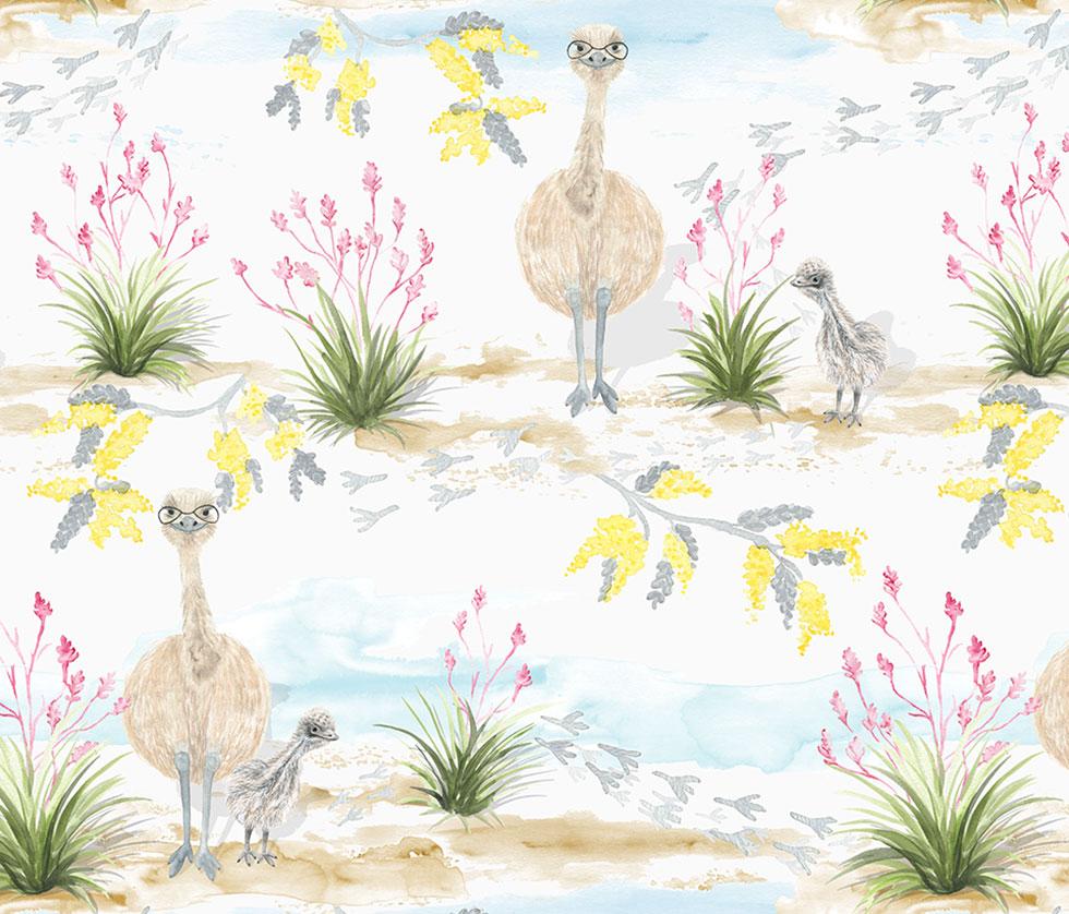 Cheeky Emu - Marmalade Lion