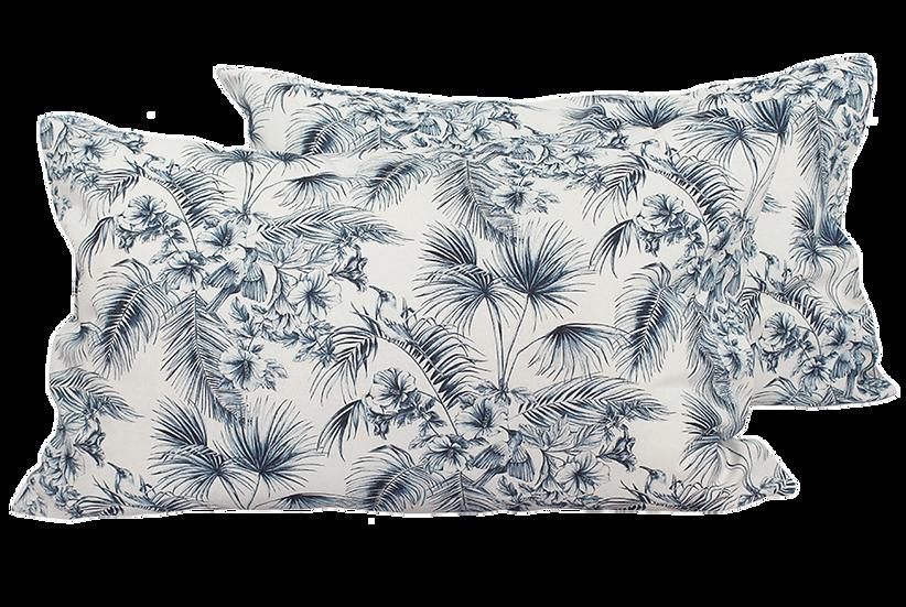 Tahiti Toile Pillowcases - Pair