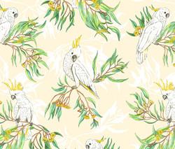 Cockatoos in the Trees - Vanilla