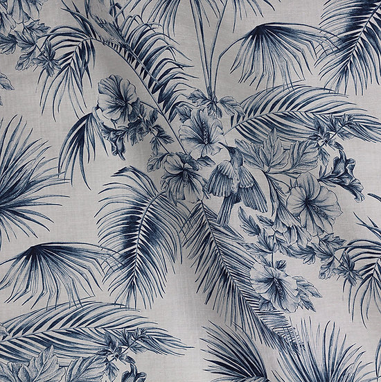 Tahiti Toile Linen Cotton Fabric