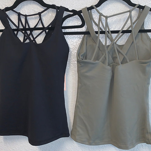 Workout Tank with Bra