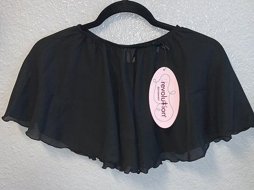 Black Pull On Skirt