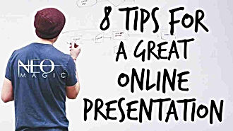 8 Tips For A Great Online Presentation b