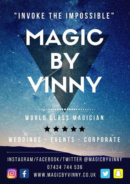Magic By Vinny Flyer