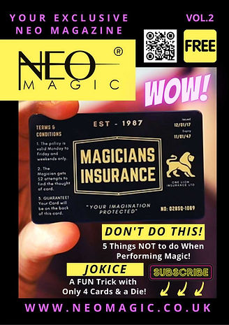 Neo Magazine - Vol 2 free to download by vinny sagoo and includes tricks articles and facts.