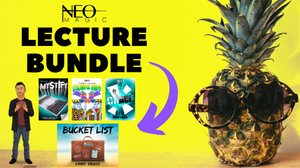 Vinny Sagoo at Neo Magic lecture bundle with Mystify, CHACEm Colouful Kings and Bucket List