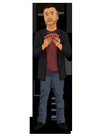 Vinny Sagoo from Neo Magic cartoon