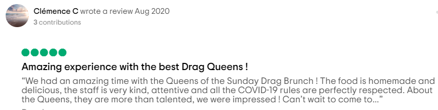 Lisbon Drag Brunch Review 2
