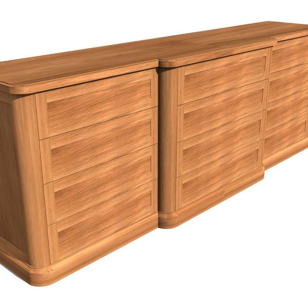 Heeter - Media Cabinet 8 - Render 4 Wood