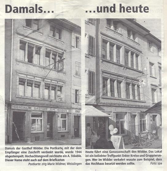 """""""Damals und Heute"""""""